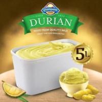 Ice Cream Campina 5 lt DURIAN / es krim 5 liter