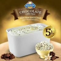 Ice Cream Campina 5lt CHOCOLATE CHUNK/ es krim 5 liter