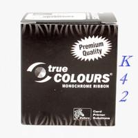 Ribbon Black Printer Kartu ID Card Zebra P330i
