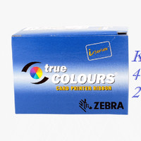 Ribbon Color Printer Kartu ID Card Zebra P330i