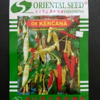 BENIH CABAI CABE RAWIT OR KENCANA ORIENTAL SEED 10 GRAM