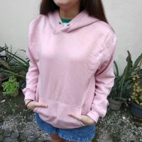 Jaket Sweater Hoodie HnM /H&M Pink Salem ORI Full Label
