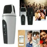 Mikrofon Mik Kabel Karaoke Mic Smule KTV Microphone Mini HP Komputer