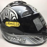Promo Terbaru Helm Bmc Jazz Motif Motif 15 Graphite Met Full Face