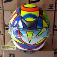 Promo Terbaru Helm Full Face Soleluna 2016 Agv Rossi Basic Kyt
