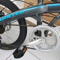 menjual berbagai merek sepeda secara online Sepeda lipat United PACT
