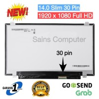 Led 14.0 Slim 30 pin Full HD 1920 1080 1080p Laptop