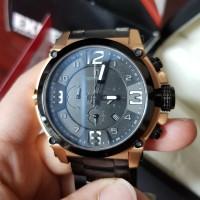 Expedition Watch / Jam Tangan Expedition Black Gold Fullset - Bekas Be