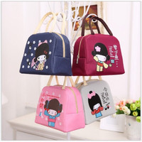 Lunch Cooler Bag Box Tas Tempat Bekal Makan Bento Japan Japanese Girl
