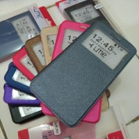 Coolpad Fancy Pro FlipCover Softcase Classic Leather Case Ume