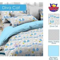 Sprei STAR Diva Cat1 Ukuran 100x200