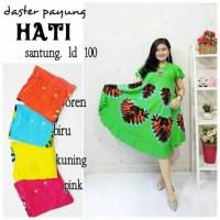Daster payung batik / daster hamil / baju tidur / daster hati