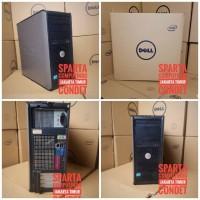 CPU dell 780 core 2 duo E7500 Ram 2gb ddr 3 hdd 160 gb full set dus