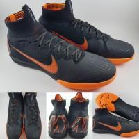 796ff323e Sepatu Futsal Nike Mercurial Superfly VI 360 Elite IC Black Orange