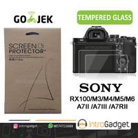 Tempered Glass SONY A7 A7II A7III A7RII A7RIII RX100 Screen Protector