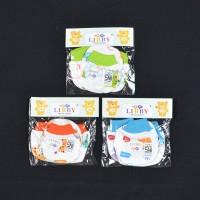 LIBBY 3 Pcs Sarung Tangan & Kaos Kaki Rib Bayi/Baby Motif (0-3M)