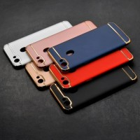 Case Oppo F5 Plating 3 in 1 Slime Matte