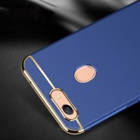 Case Oppo F7 Plating 3 in 1 Slime Matte