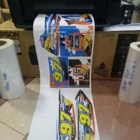 Mesin Printer Sticker Vinyl Inkjet A3 Epson Tinta Artpa Paling laku