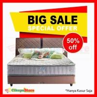 BIG SALE Kasur Spring Bed Matras Elite Healthy - 100x200 (Kasur Saja)