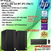 HP PRO 280 G4 MT - 5HS07PA Core i7-8700/8GB/1TB/Win10Pro/3YR PC ONLY