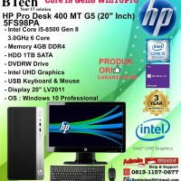HP PRO DESK 400 MT G5 - 5FS98PA Core i5-8500/4GB/1TB/DVDRW/W10PRO/3YR