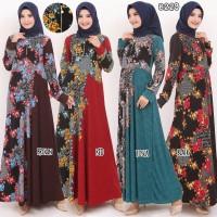 Baju Gamis Wanita Terbaru Gamis Busui Gamis Missbee Sleting Depan 8229