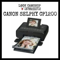 GROSIR CANON SELPHY CP1200 WIRELESS COMPACT PHOTO PRINTER BLAC Murah