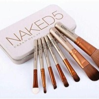 [ ISI 7 KUAS ] NA*KED 5 Make Up Brush Kaleng