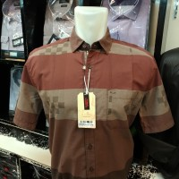 CARDINAL Original Mens Shirt Kemeja Pendek Cotton Casual 774 ae65e8aebe