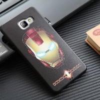 Casing Silicon Marvel 3D Samsung Galaxy A5 2017 A7 2017 Soft Terlariss