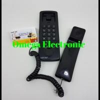 Sahitel S21 - Telepon Kabel Gantung Rumah Kantor - Hitam
