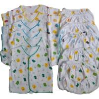 Setelan Baju Bayi Setengah Lusin 6 pcs Size: 0-6 bulan