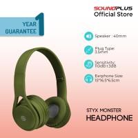 Soundplus - Styx Monster / Headphone Murah / Headset With Microphone