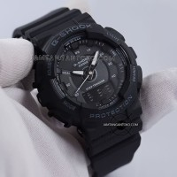 Jam Casio G Shock GMA-S130-1A Black Step Tracker GMAS130 Hitam Ori BM