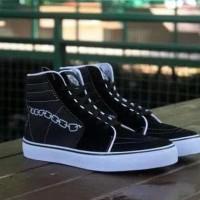 Sepatu Sekolah Murah Hypebeast Vans Sk8 Hi Motif Hype O