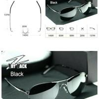 3c5987938092 Kacamata Porsche Design Aviator Kaca Mata Hitam Porsche Sunglasses