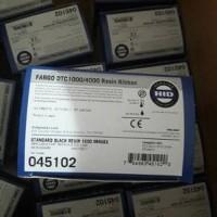 DISKON BESAR Ribbon Printer kartu fargo dtc1250e Dtc1000 Black P