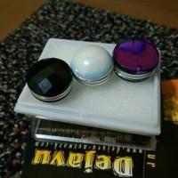 3's Bross Magnet D18mm Jilbab Kerudung Khimar Hijab Syai'i Mewah