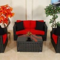 Stock Sofa Rotan Sintetis Tanjung Tersedia