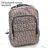 Calvin klein backpack canvas tas asli original bag