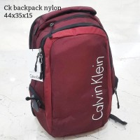 Calvin kelin backpack nylon tas asli original bag