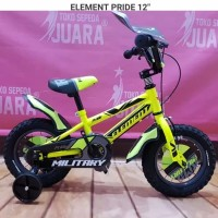 Sepeda Anak BMX Element 12 inch untuk usia anak 2-4 Tahun