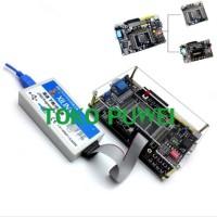 Unik AD Dan DA Xilinx Spartan 6 FPGA Development Board With JTAG Cable
