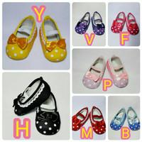 Sepatu Bayi / Anak Perempuan Polkadot Flat