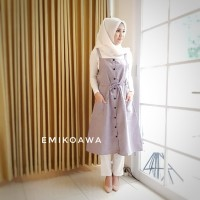 Dress Overall - Emikoawa / Atasan / Tunik / Souvenir / Berkualitas