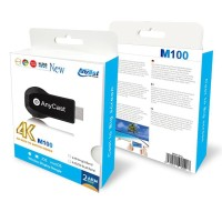 AnyCast M100 Wifi Display TV Dongle, Dual Core 4K HD Display Support