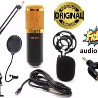 Full Set BM-800 Mic Condenser Sound Recording Microphone Smule BM800
