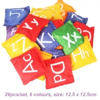 Mainan Edukatif Bean Bag Montessori - abc Alphabet Mainan Anak