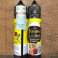 Bananalicious Banana Licious Premium Liquid Vapor Vape 60ml